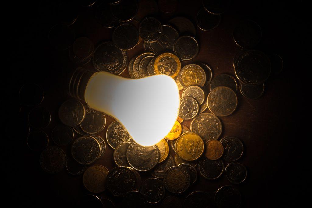 idee ampoule monnaie